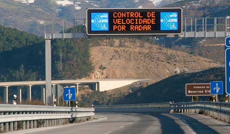 Las multas de radar disparan los ingresos de DGT