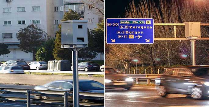 Los radares trampa que engañan a los conductores