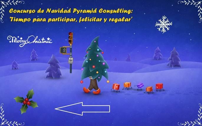 Concurso de Navidad Pyramid Consulting: lo importante es participar