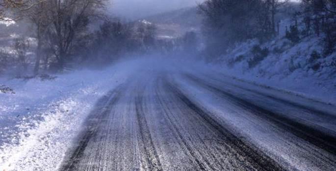 Conducción segura durante la ola de frío