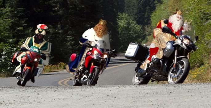 Los Reyes Magos no se libran de las multas de tráfico