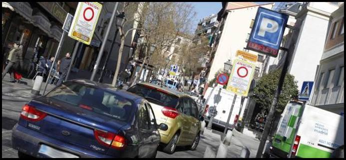 Madrid pone un cerco en el centro para el tráfico