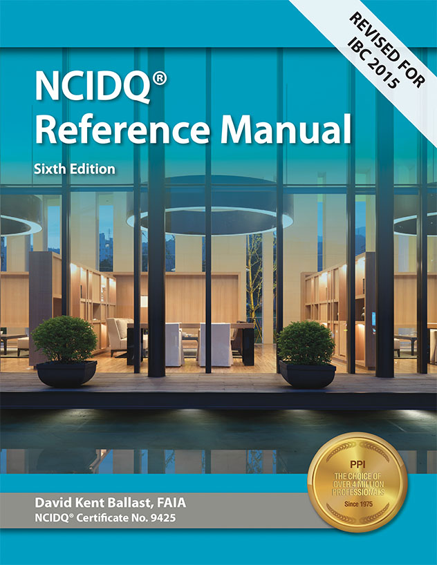 Interior Design Reference Manual For The NCIDQ Exam • Qpractice