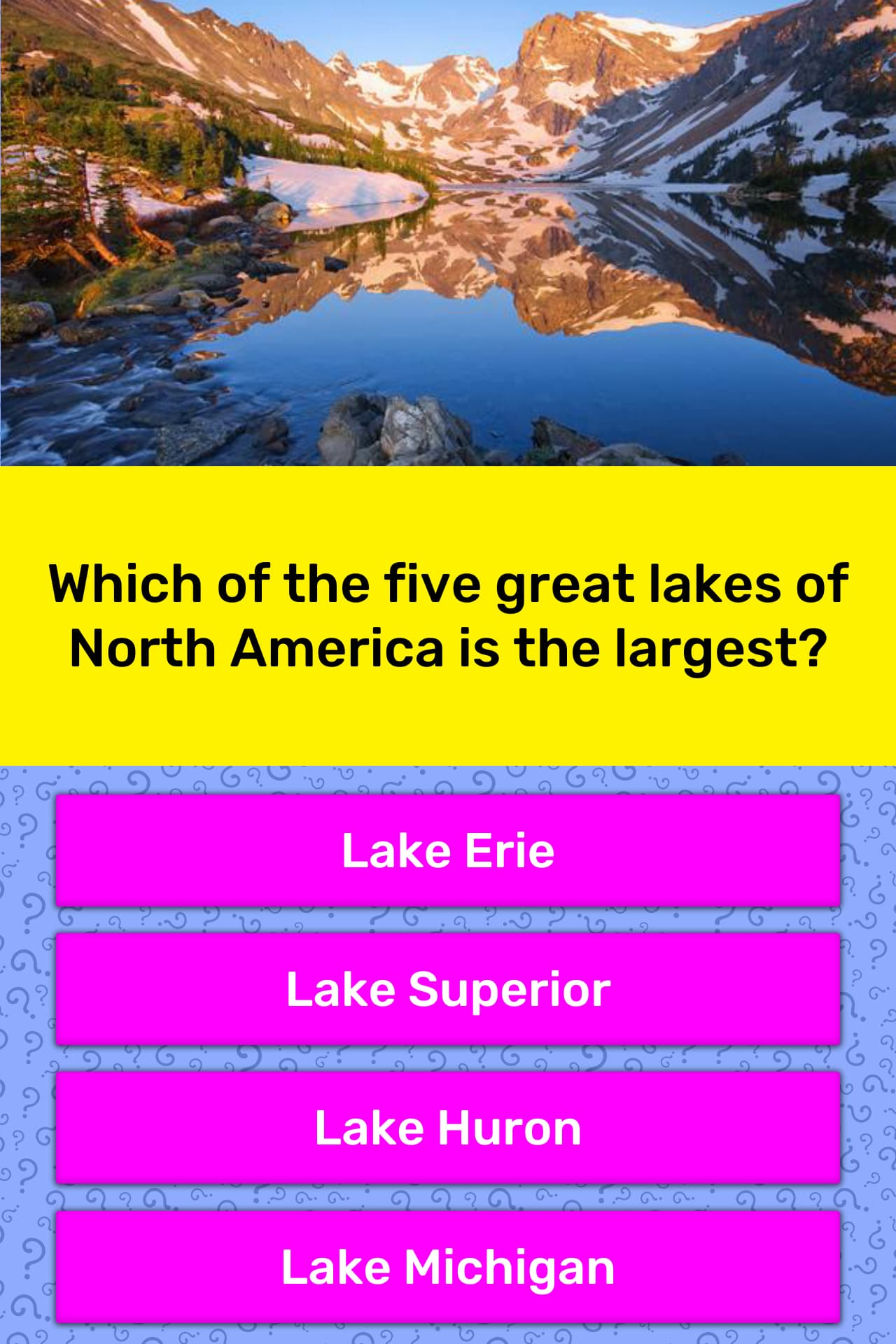 Which Of The Five Great Lakes Of