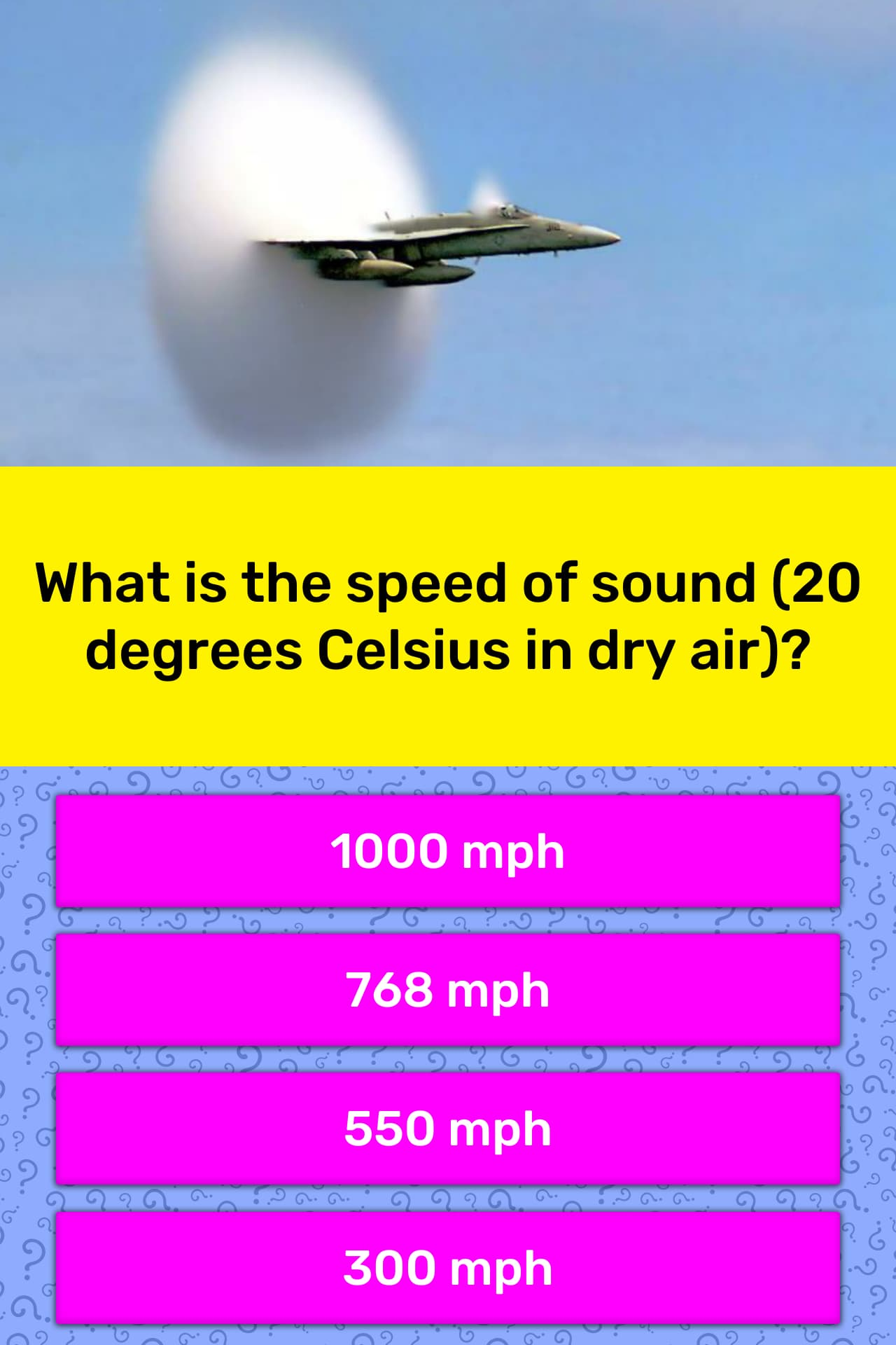 What Is The Speed Of Sound 20