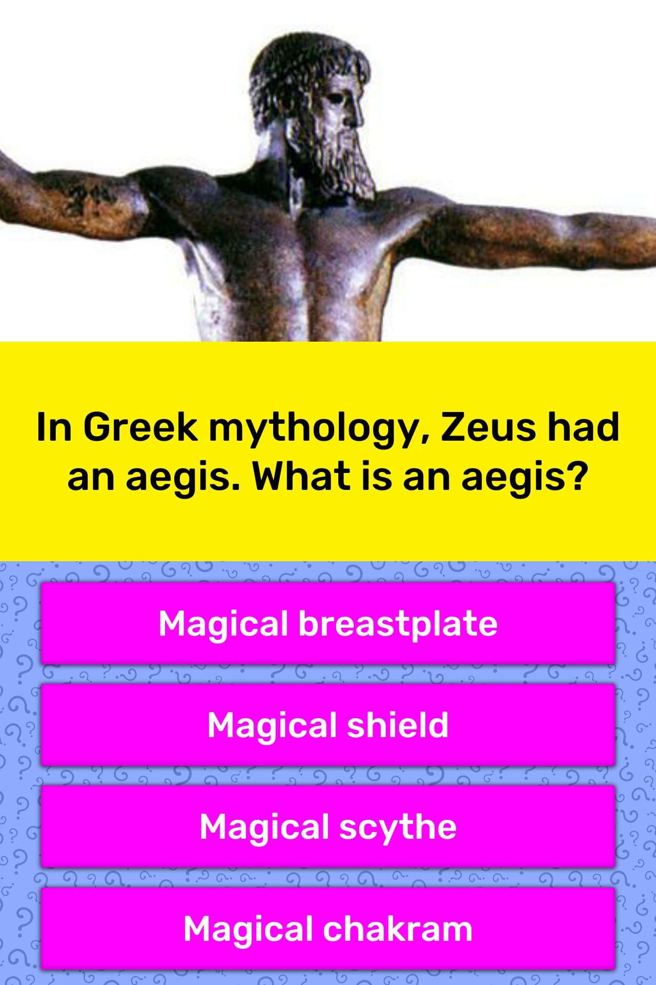 In Greek Mythology Zeus Had An