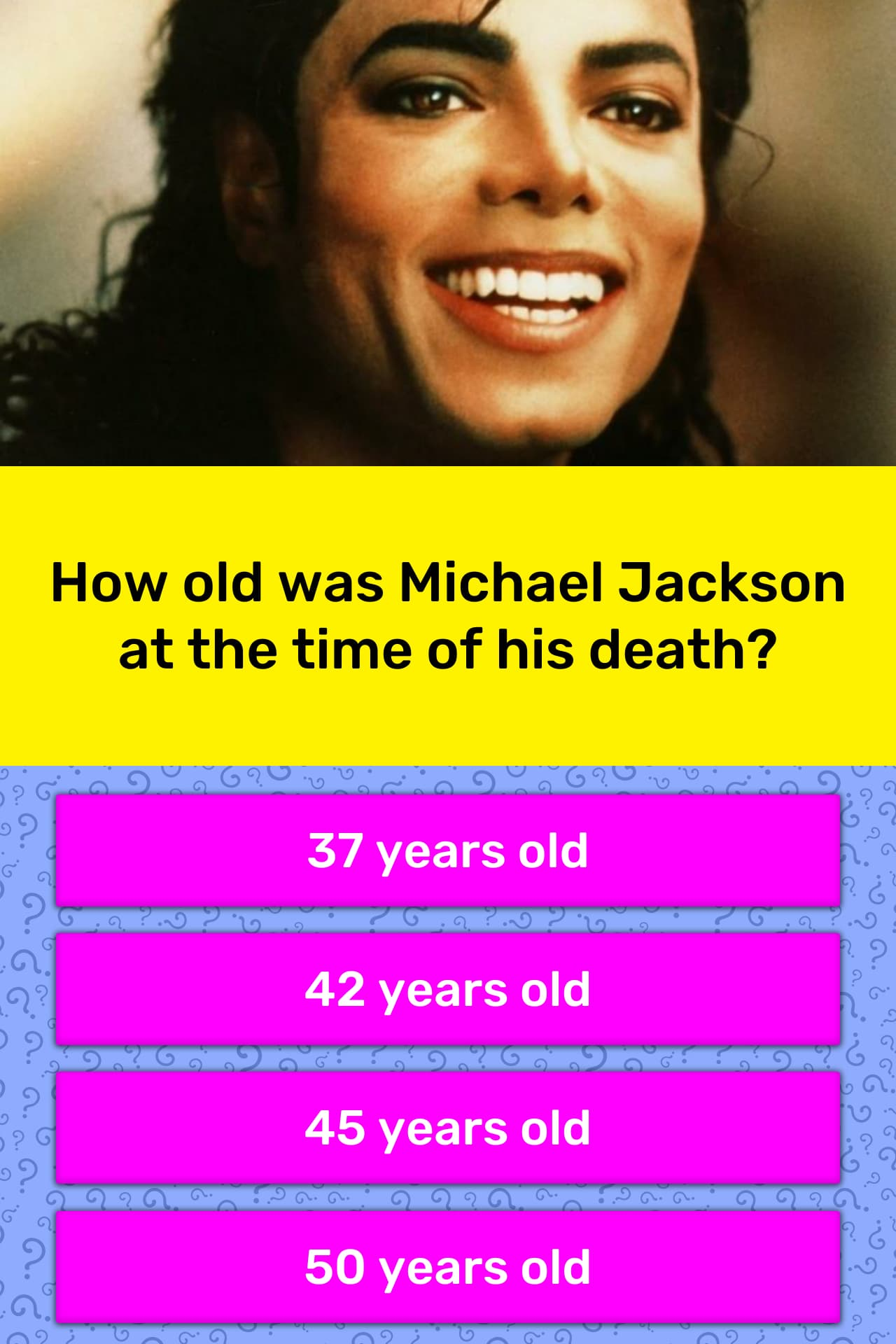 How Old Was Michael Jackson At The