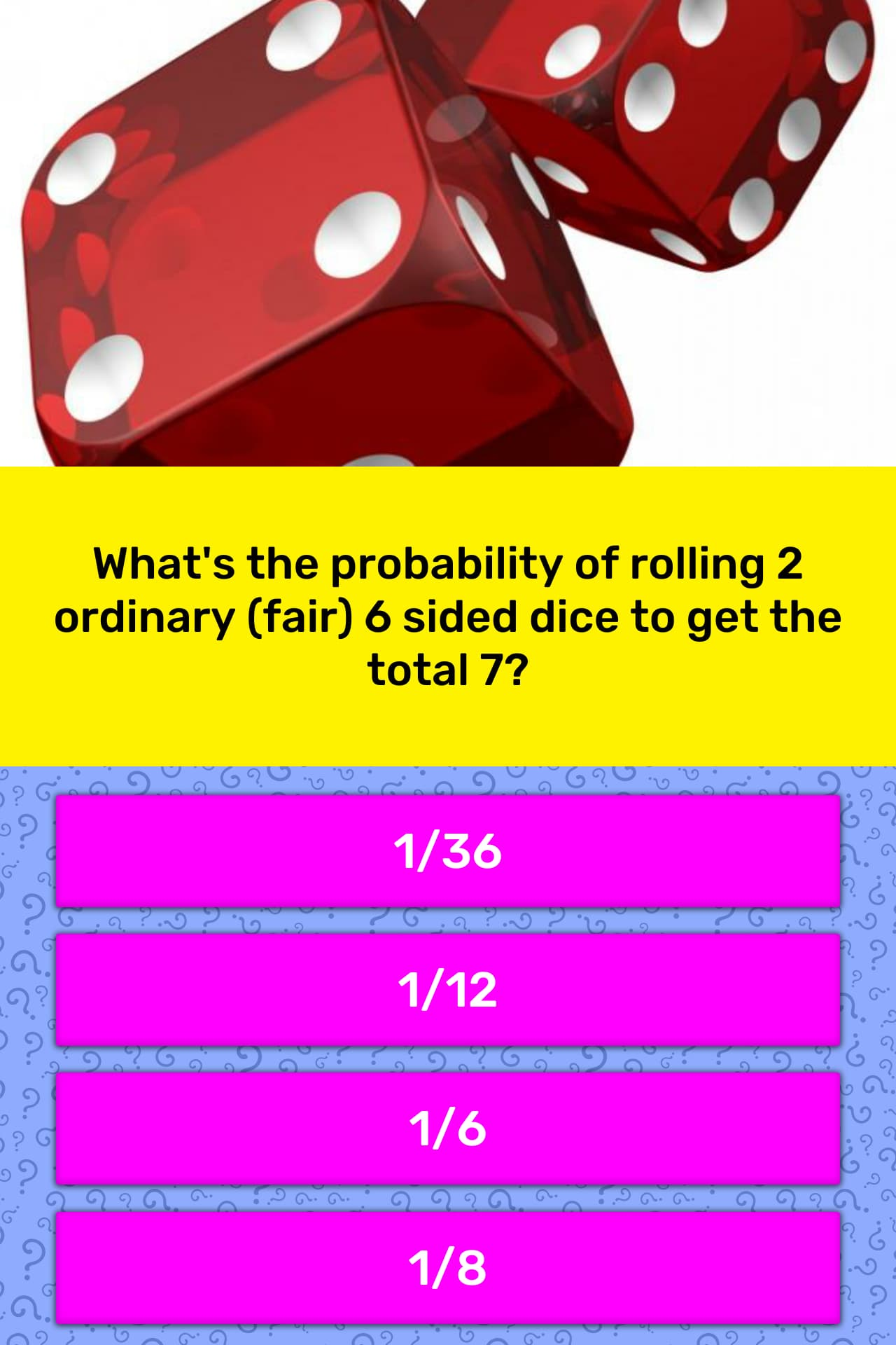 What S The Probability Of Rolling 2