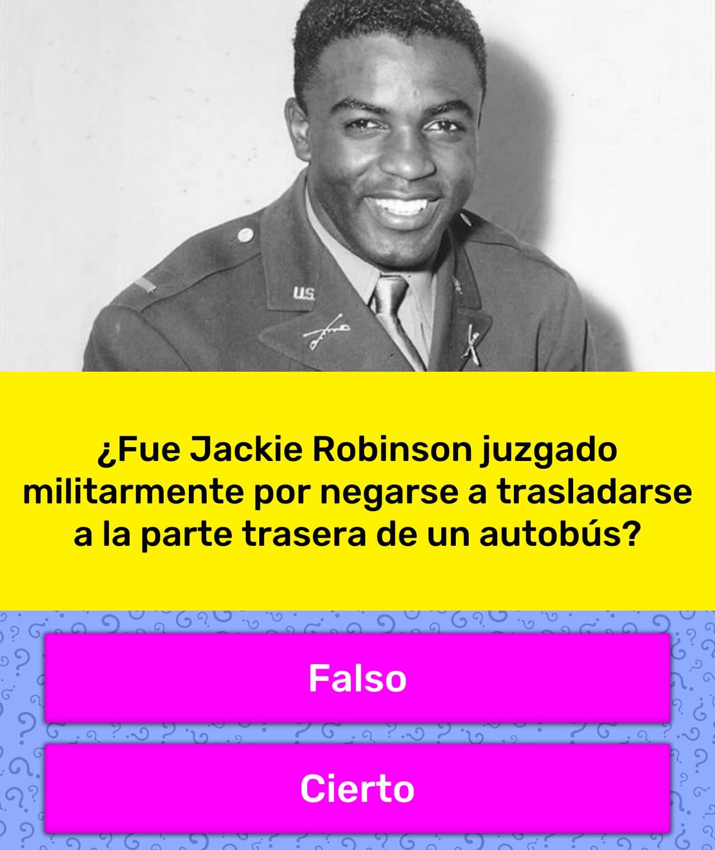 Fue Jackie Robinson Juzgado