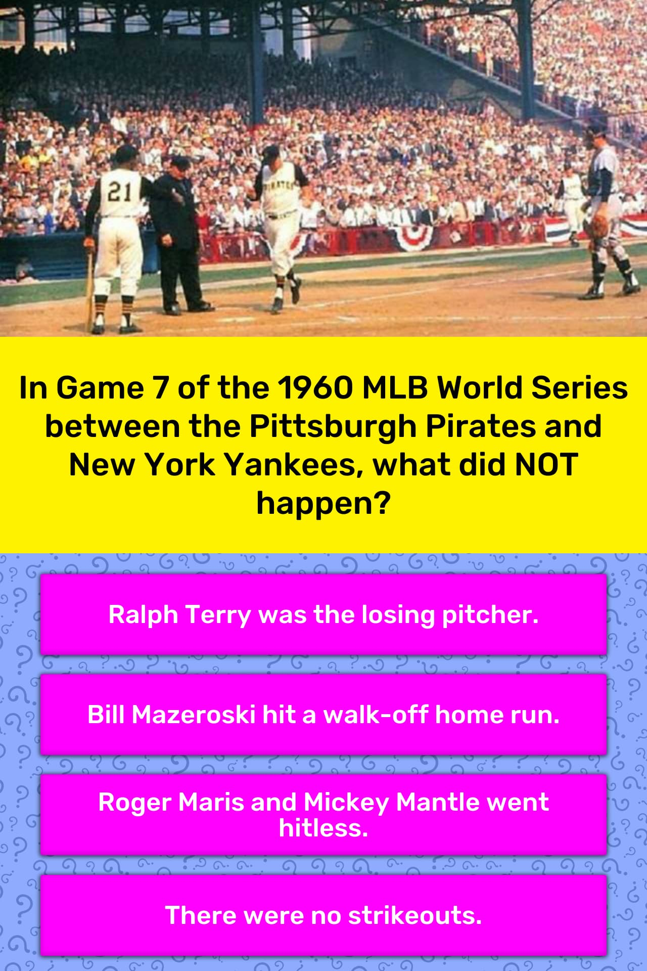 Broadcast of 1960 World Series Game 7 Found in Bing Crosby ...