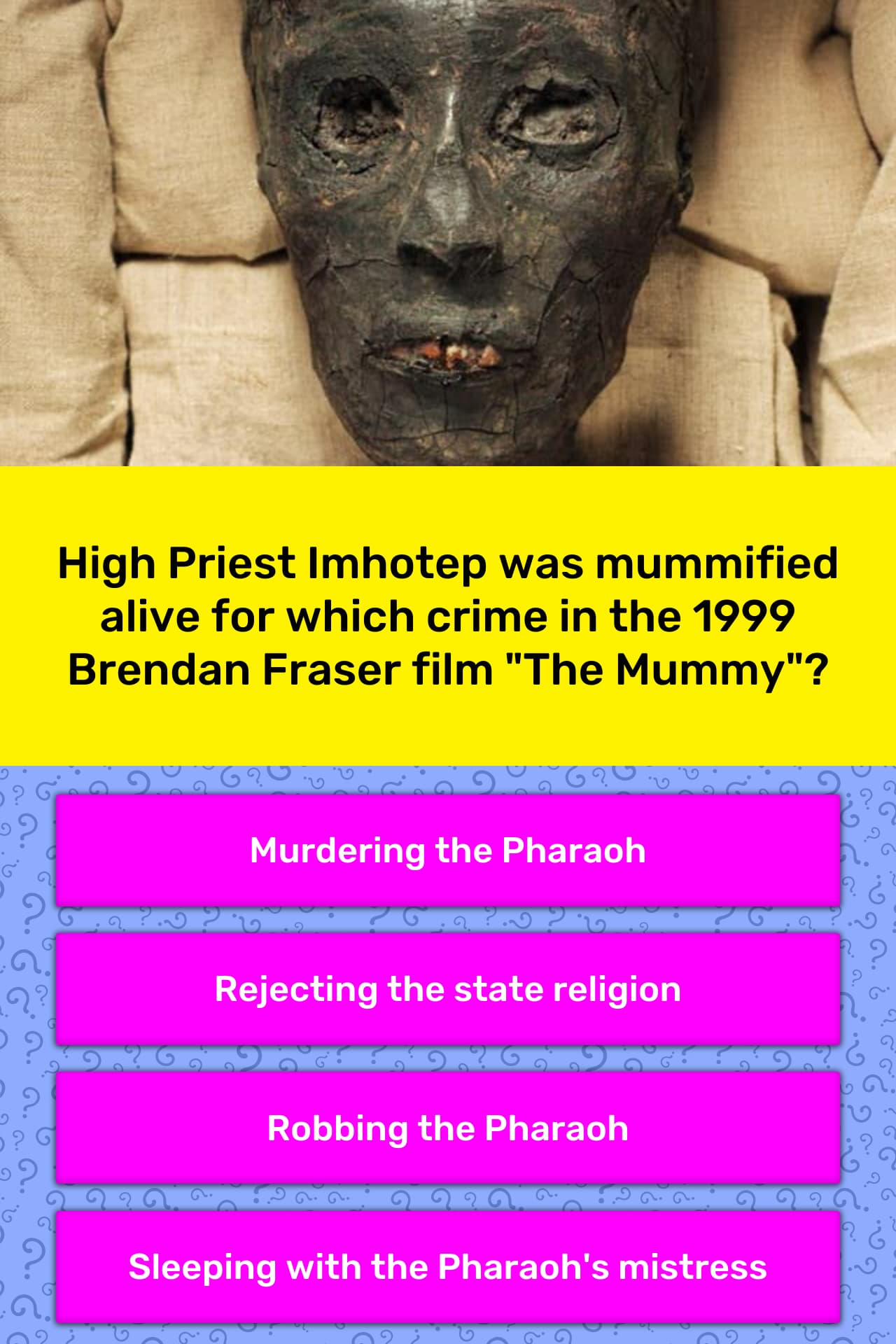 high priest imhotep was