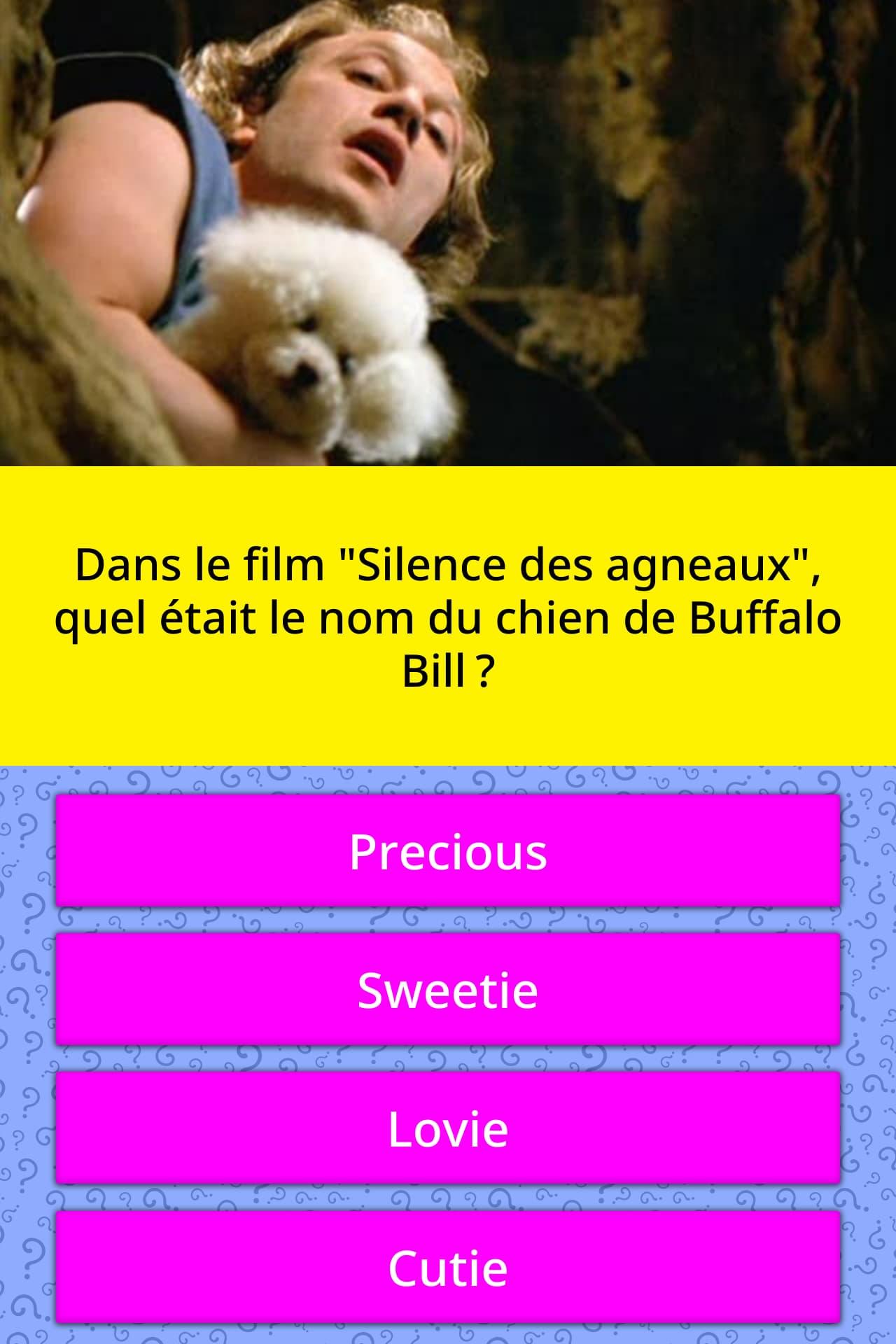 Le Silence Des Agneaux Buffalo Bill : silence, agneaux, buffalo,