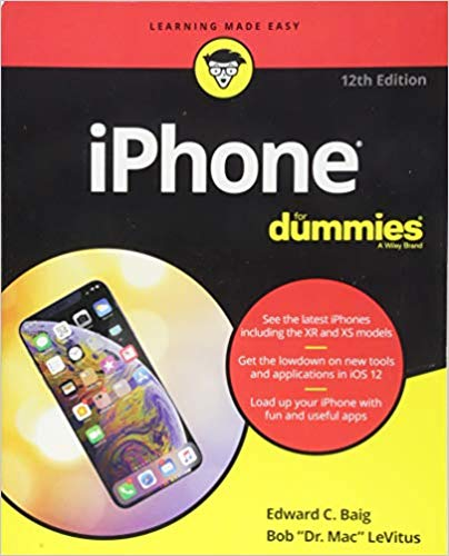 Iphone for Dummies Book