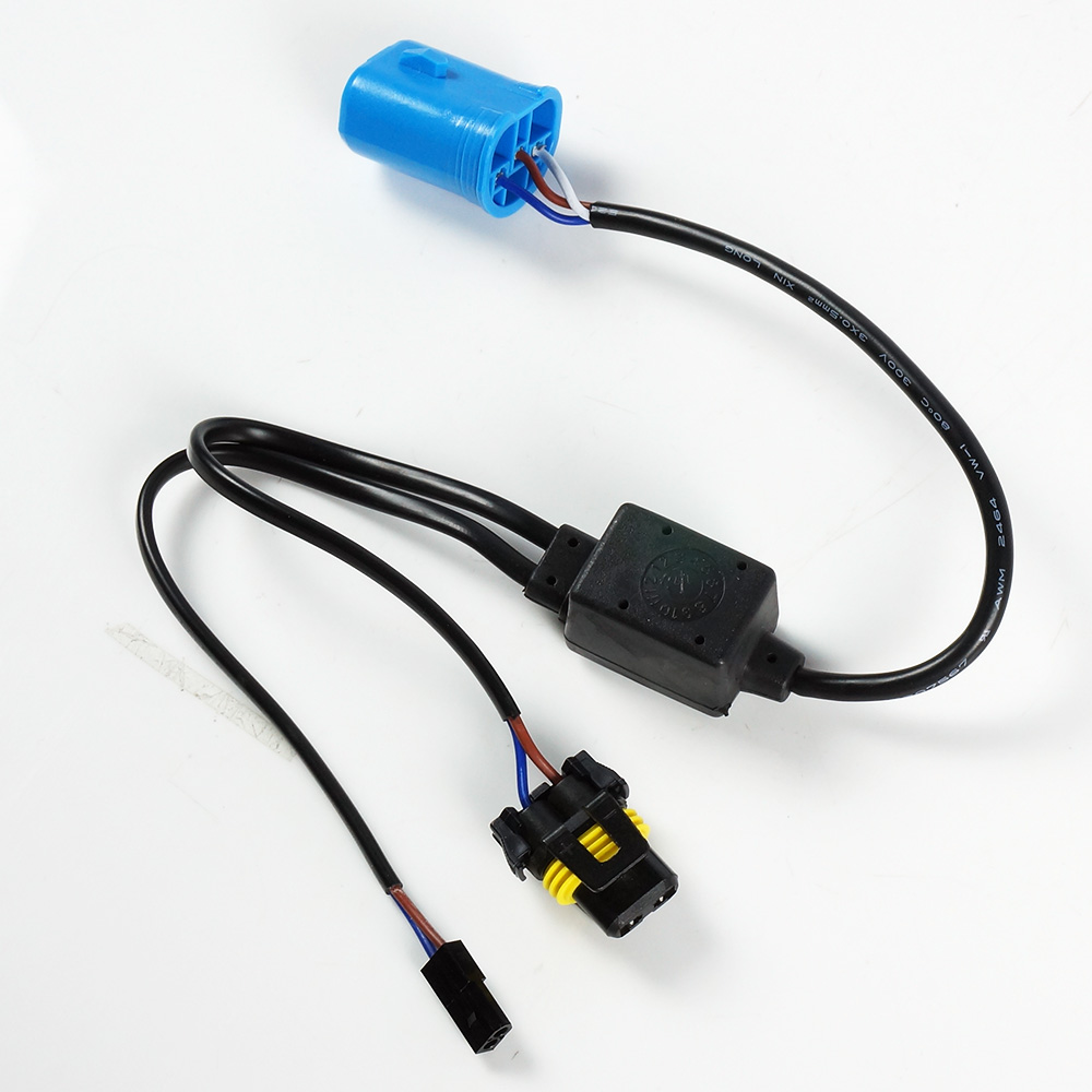 hight resolution of 1pc 9007 hb5 easy relay harness hi lo bi xenon hid bulbs wiring