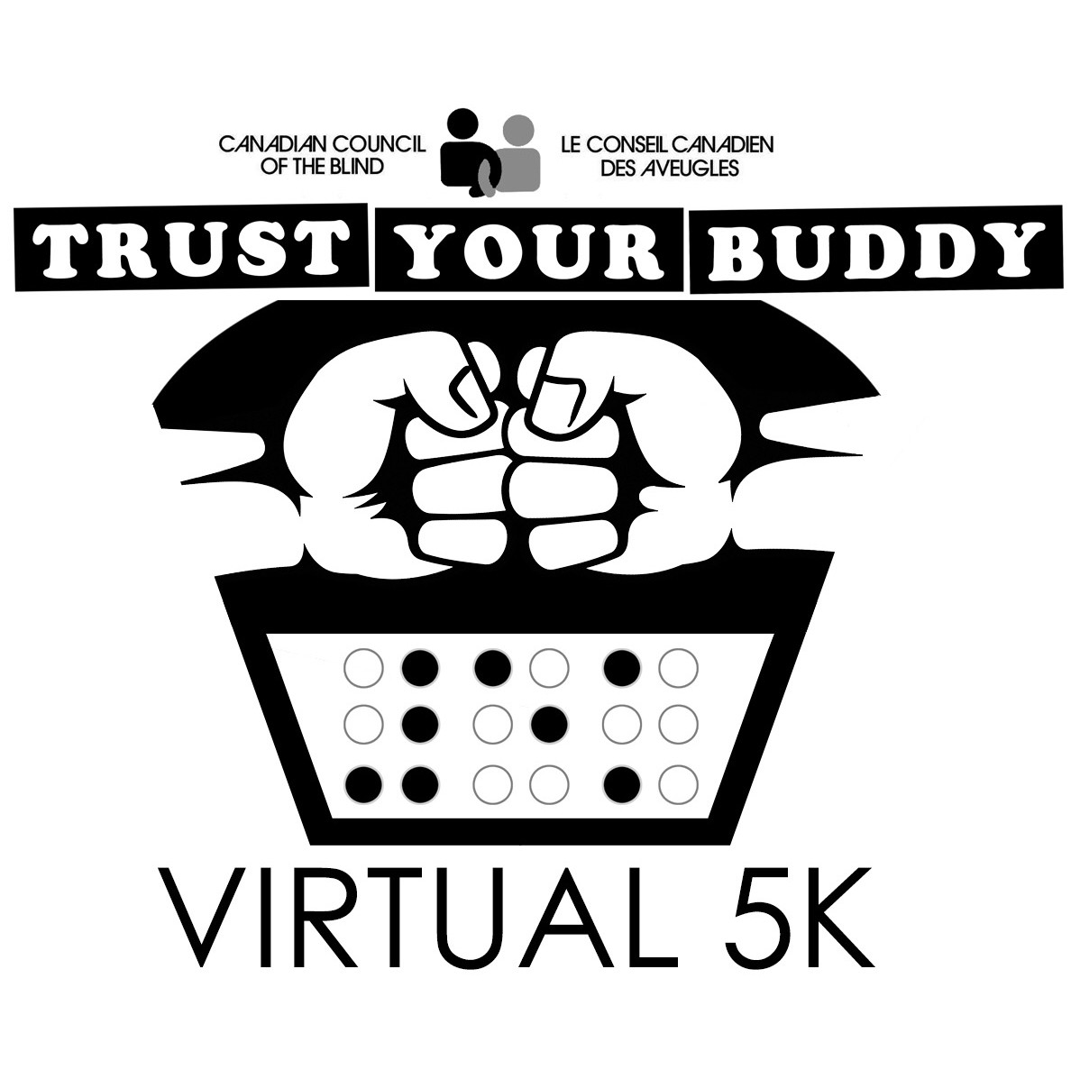 2017 — CCB TRUST YOUR BUDDY VIRTUAL 5K — Race Roster