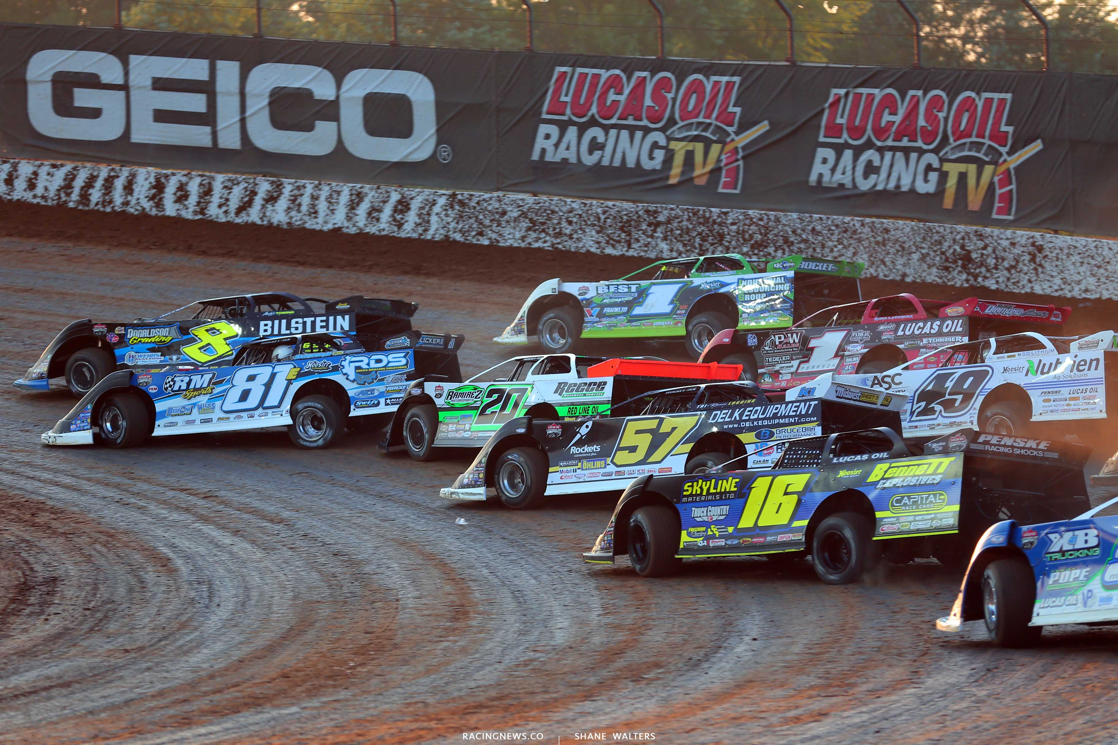 Show Me 100 Results: July 18 2020 (Lucas Late Models ...