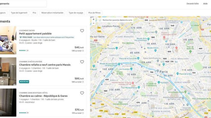 La mairie de Paris assigne la plateforme Airbnb en justice