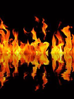 Les Flammes De L Enfer : flammes, enfer, Brasier,, Démons, Supplices, L'enfer, Médiéval, Histoire, Enfers