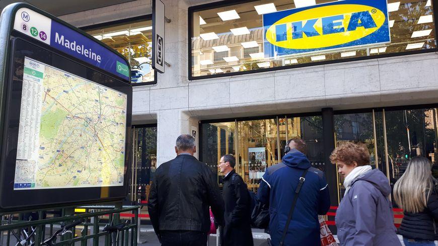 Paris Ikea Ouvre Son Premier Magasin Au Monde En Centre Ville