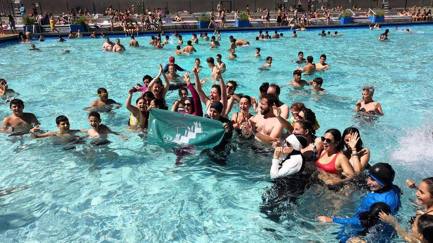 grenoble nouvelle action a la piscine