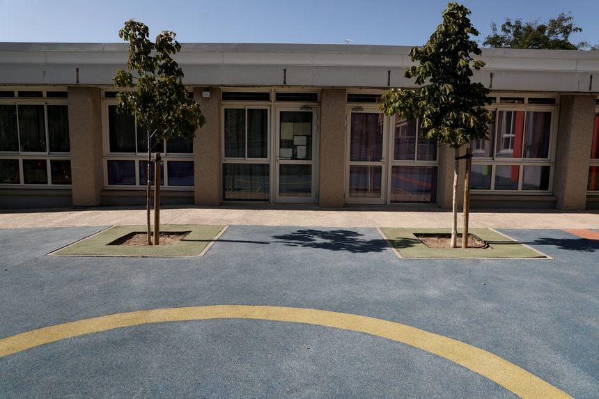 L'école de La Pauline à Marseille où Sandra Reginensi a été agressée le 6 septembre dernier - Maxppp