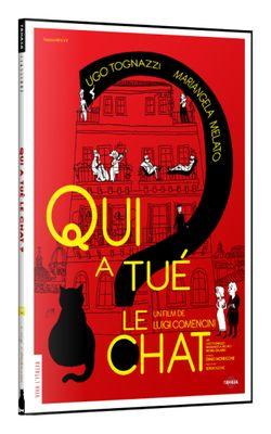 Qui A Tué Le Chat ? : Luigi, Comencini, Livre, Découvrir, France, Culture