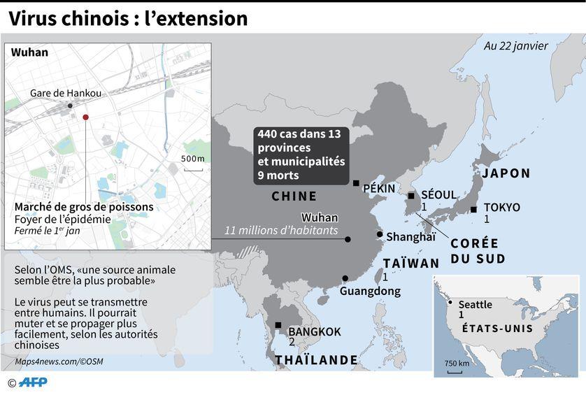Nouveau coronavirus : la Chine craint une mutation et une ...