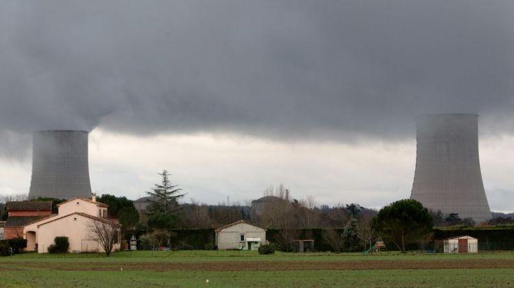 Centrale nucléaire de Golfech dans le Tarn-et-Garonne