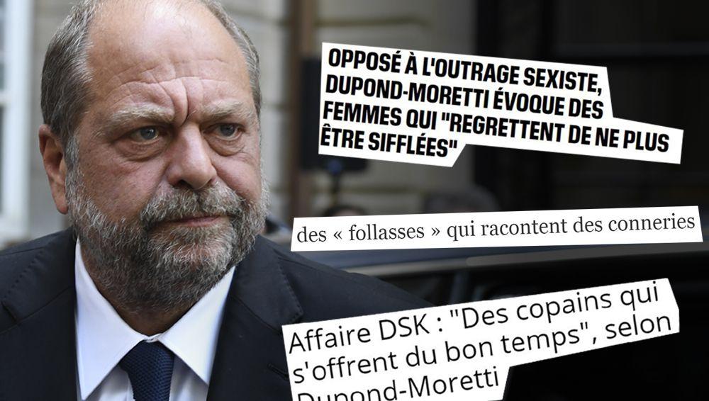 Éric Dupond-Moretti, l'anti #MeToo