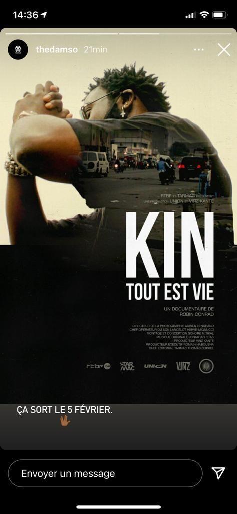 Kin 2 Date De Sortie : sortie, Damso, Documentaire, Kinshasa, Annoncé, Sortie