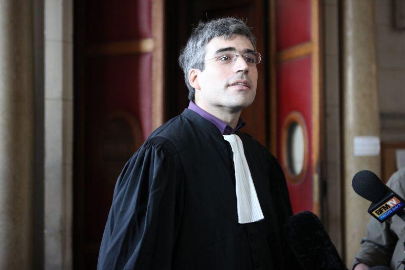 L'avocat Joseph Breham, ici en 2010 au Palais de Justice de Paris
