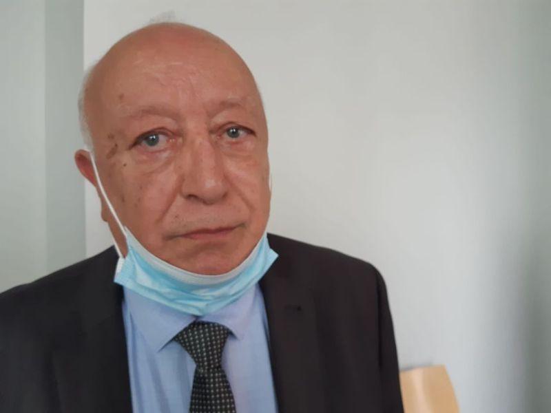 Abdallah Zekri, le président de l'Observatoire de lutte contre l'islamophobie à la sortie de la salle d'audience ce 14 septembre 2021.