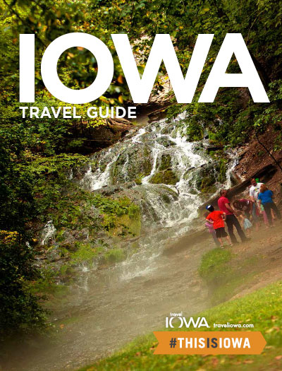 Tourism Office letting you pick its travel guide cover