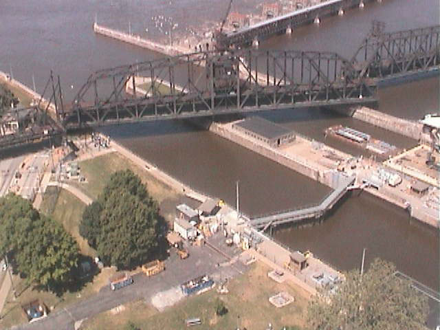 Dam 16 Mississippi Lock And