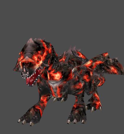 lava dragon rage of