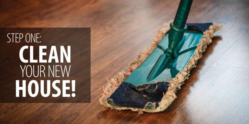Step One Clean Your New House!  Rainbow International