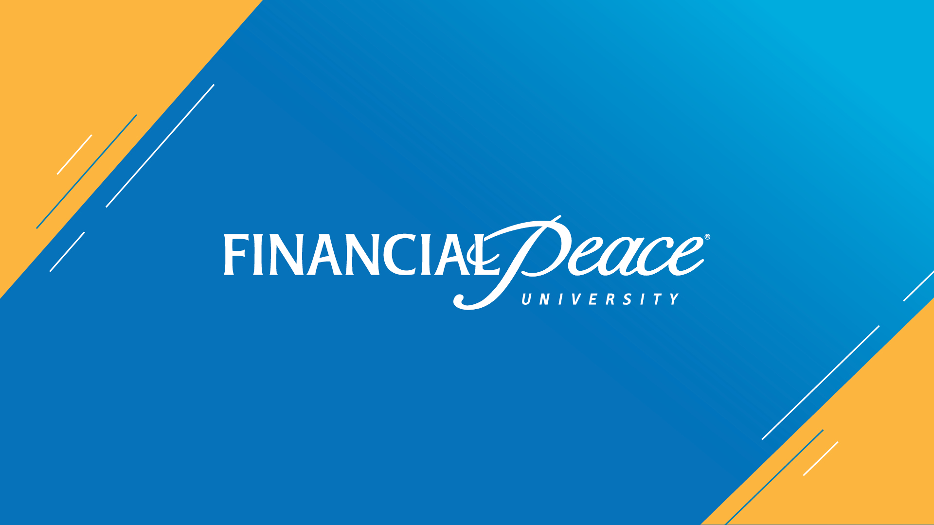 Promo Financial Peace University