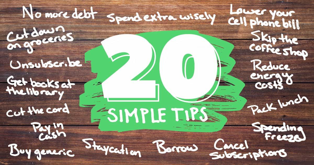 How To Save Money 20 Simple Tips Daveramsey Com