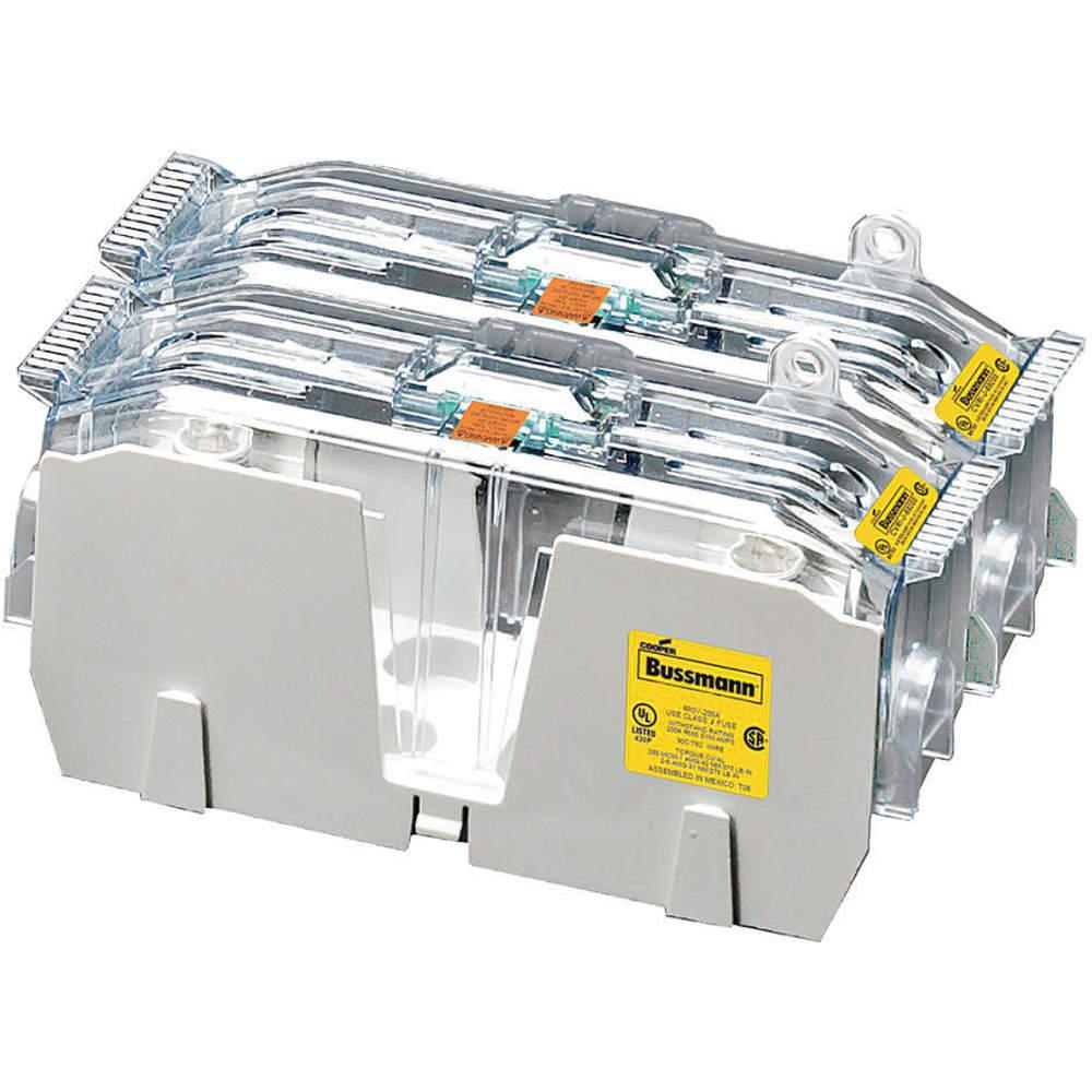 medium resolution of bussmann jm60200 2cr fuse block 110 to 200 amps 600max volt 2p