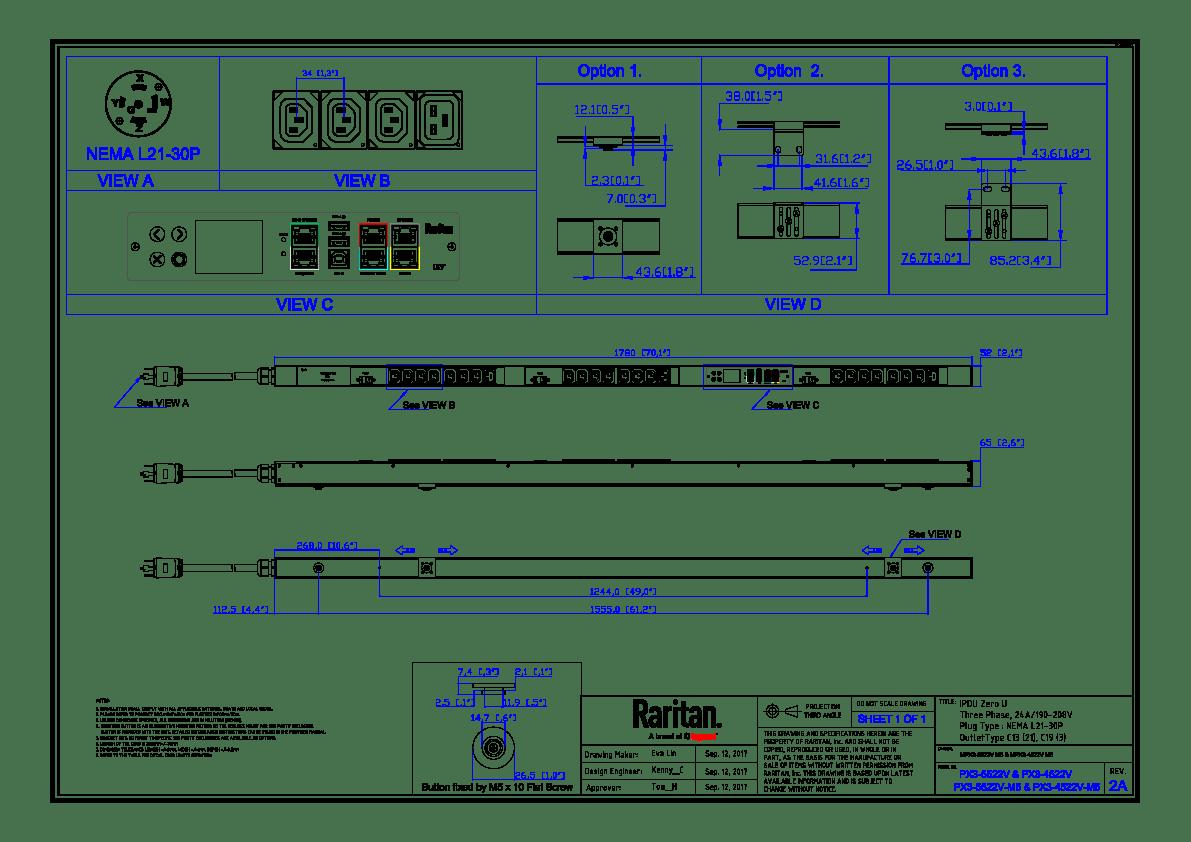 labelled diagram of ph meter 480 volt 3 phase plug wiring img pdu mechanical