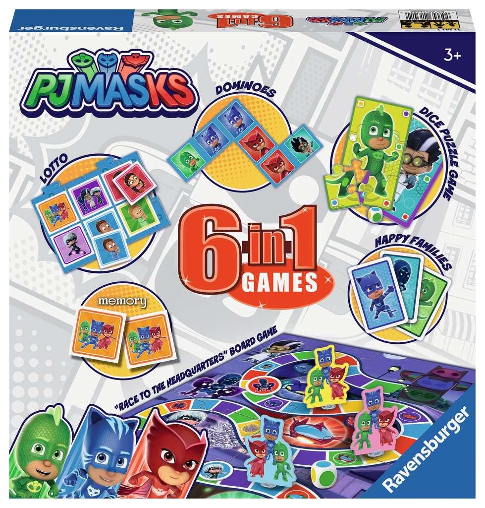 Pj Masks 6 In 1 Games Children S Games Games Products Uk Pj Masks 6 In 1 Games