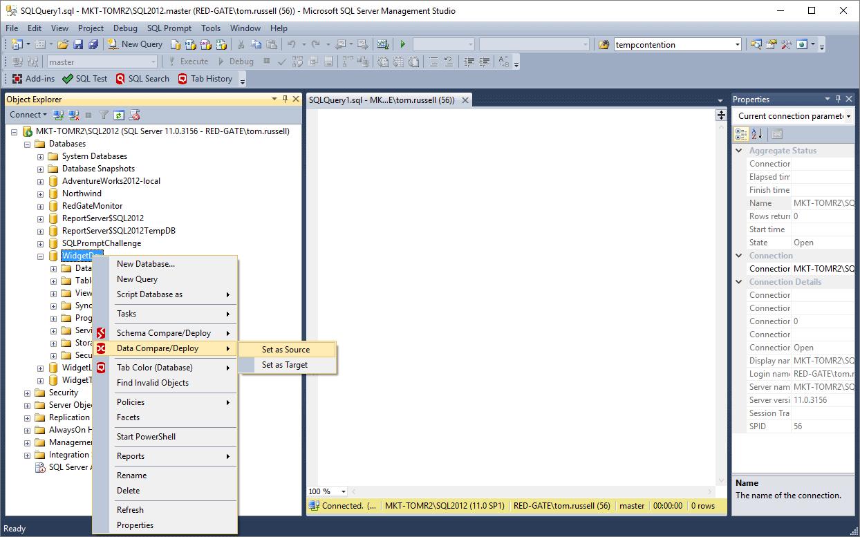 SQL Data Compare: Compare And Synchronize SQL Server Database Contents
