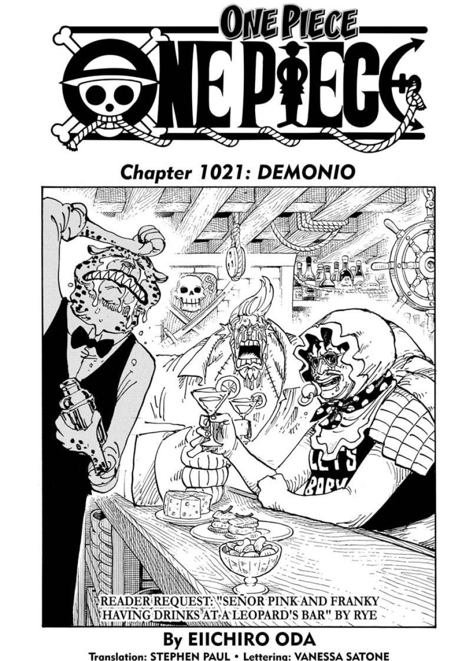 One Piece Chapter 1021 Page 1