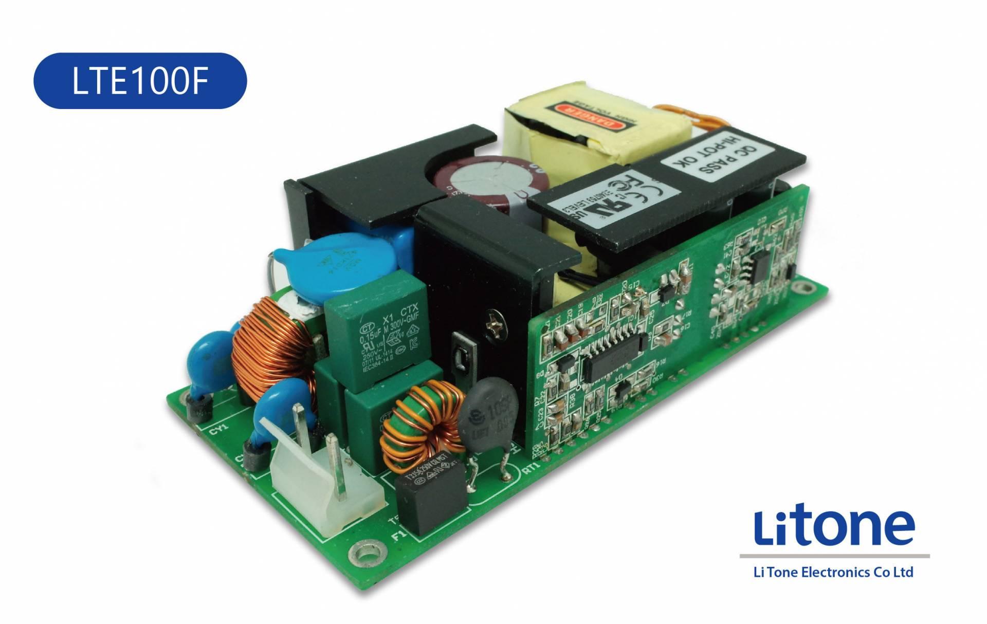 100W 電源供應器   高靈敏磁性元件和交換式電源製造商   力英電子股份有限公司