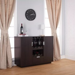 Wine Rack In Living Room Modern Rooms Furniture Cabinet Office And Home 12 Bottles Placed The Slot Vertical Rectangular Dark Brown Removable Built Glass Holder