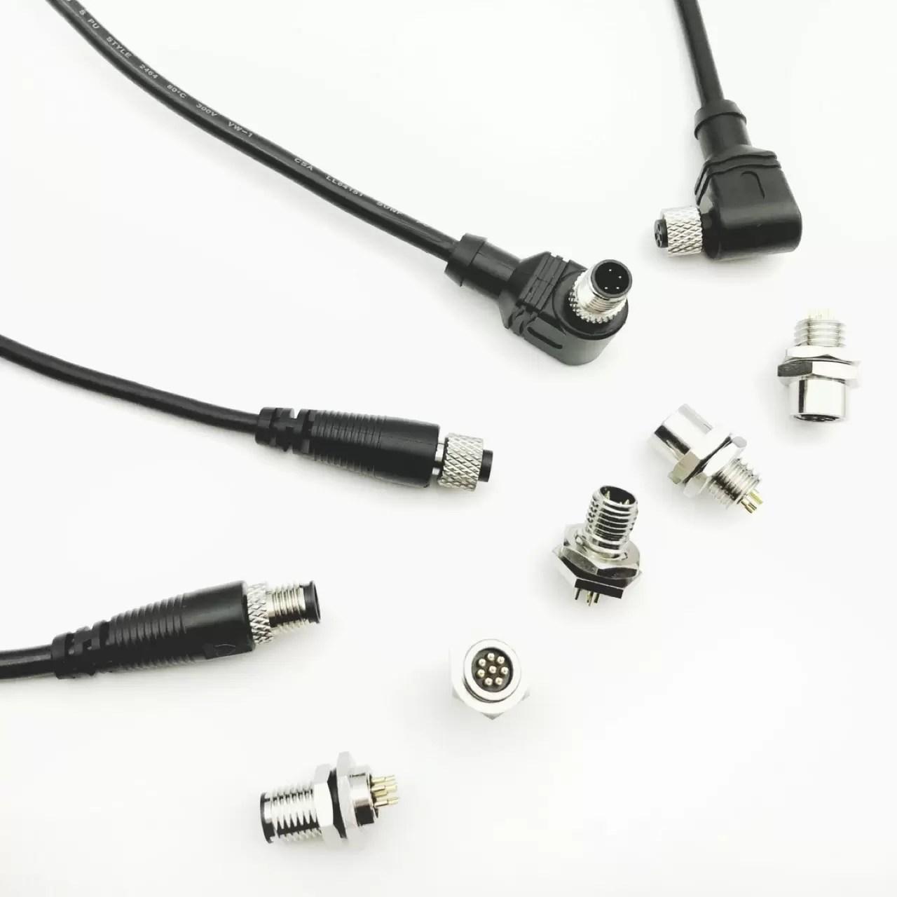 M8圓型接頭 | 專業M8圓型接頭電子元件製造商 | 慶陞工業股份有限公司