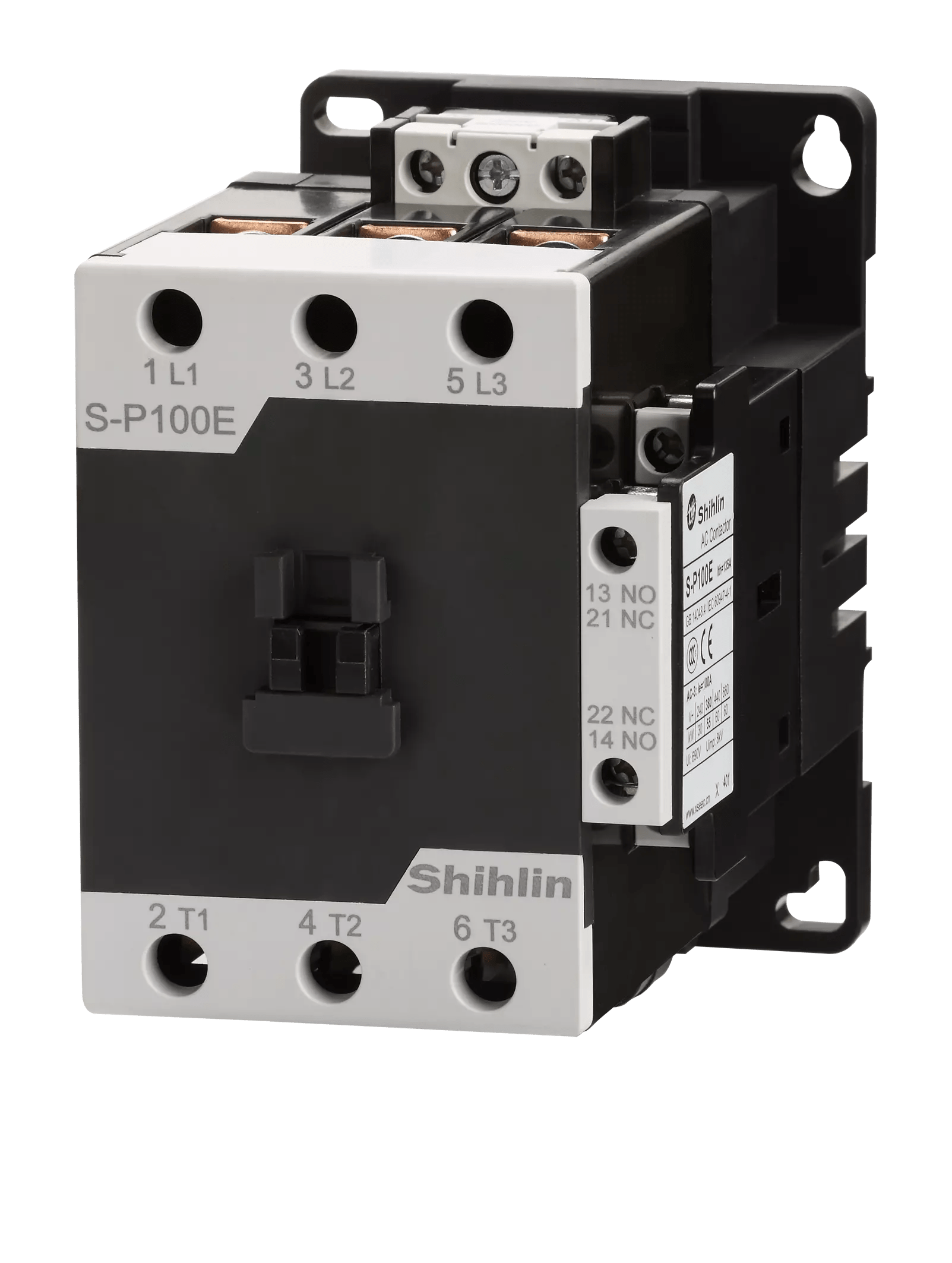 medium resolution of shihlin electric magnetic contactor s p100e