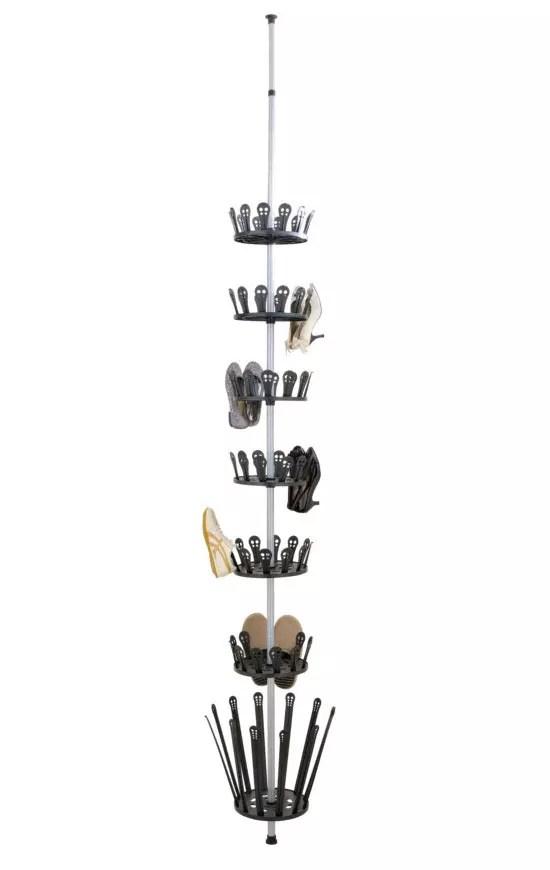 etagere a chaussures telescopique