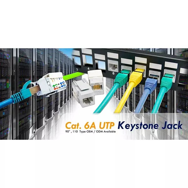 See The Keystone Jack Has The Color Code For 568a And 568b On The Jack