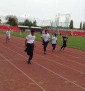Y8 Gateshead athletics race
